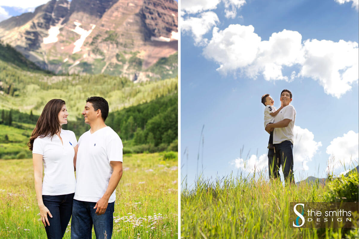 Family Portraits Maroon Bells