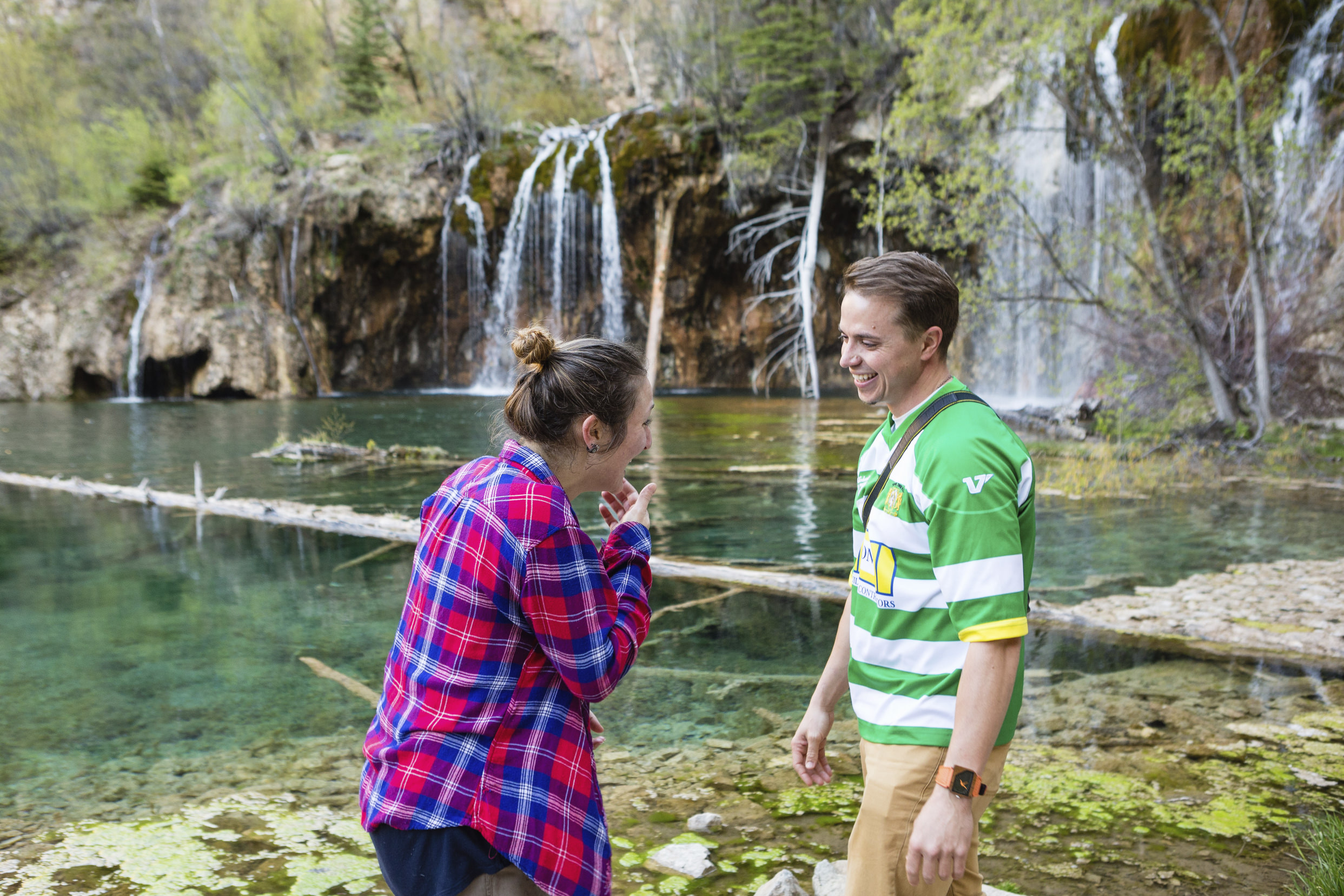 Surprise Proposal Photographer in Glenwood Springs | Windfirm Photography