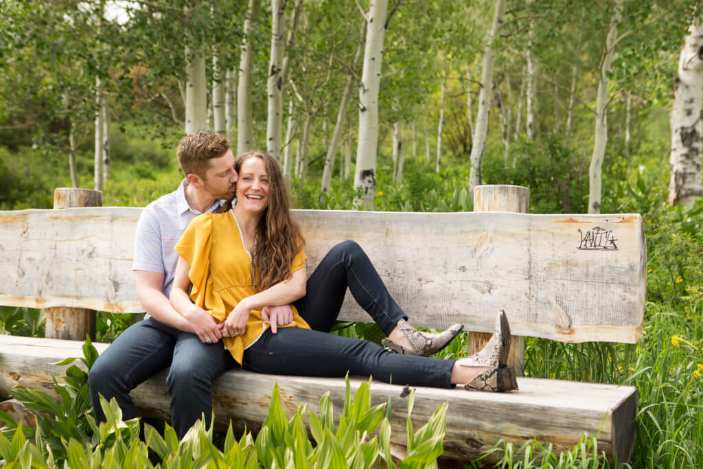 Carbondale Wildflower Engagement Sessions